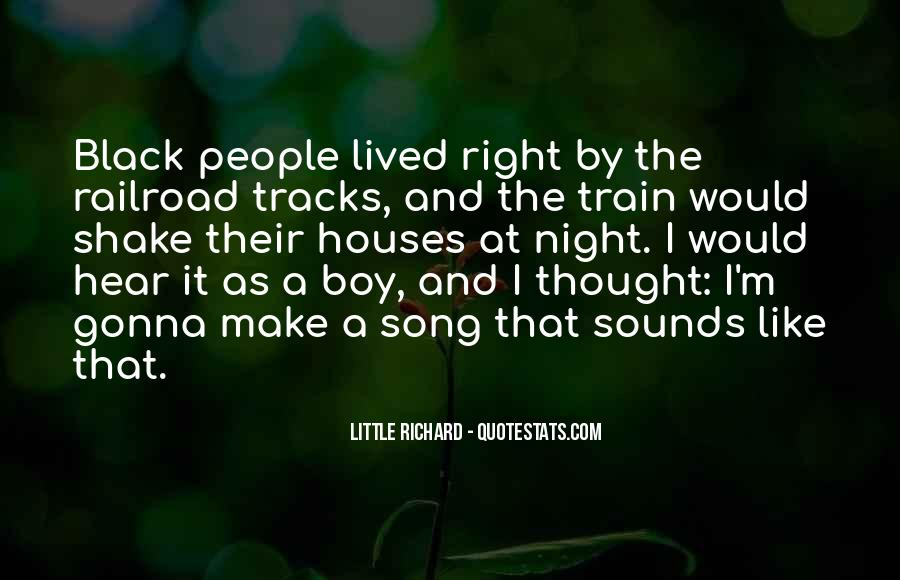 Quotes About Train Tracks #1706761