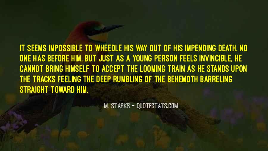 Quotes About Train Tracks #300876