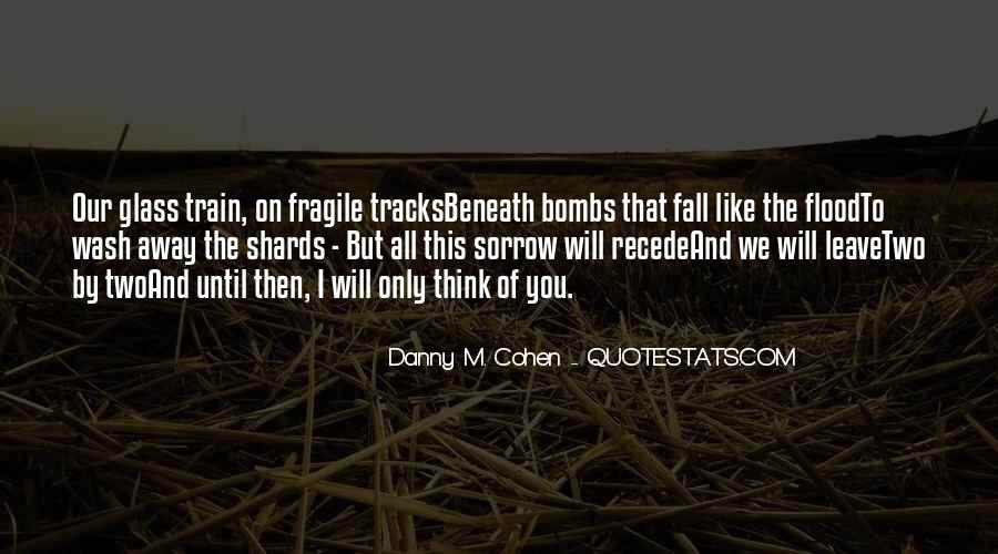 Quotes About Train Tracks #37223