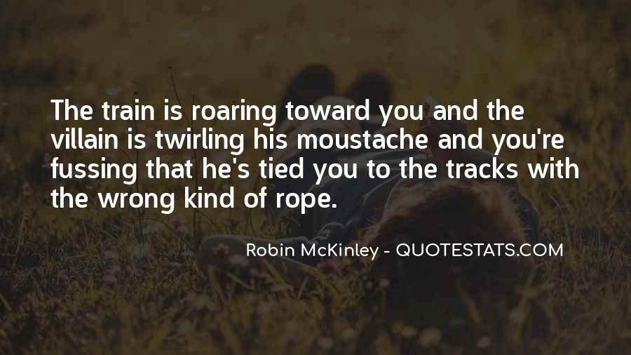 Quotes About Train Tracks #980705