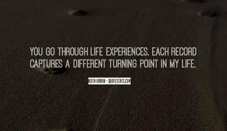 Quotes About Turning Point In Life #1252708