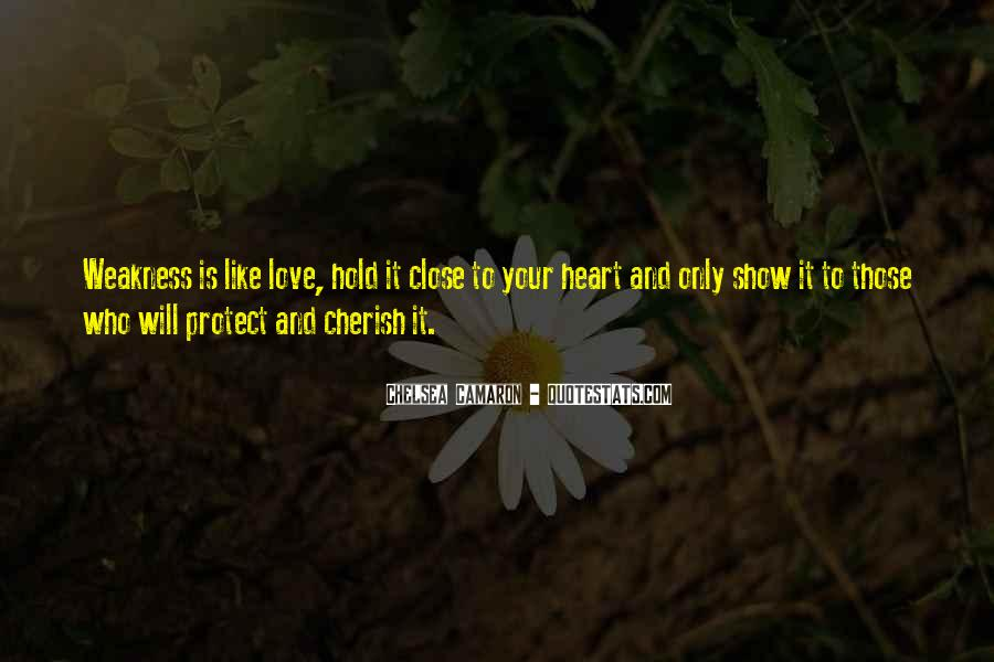 Quotes About Weakness And Love #1630756
