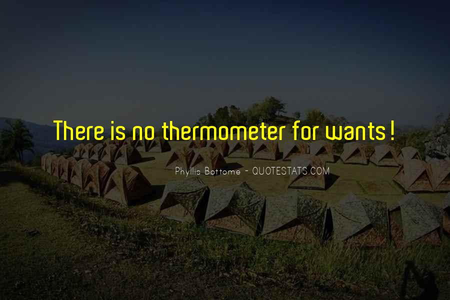 Quotes About Thermometers #1351768