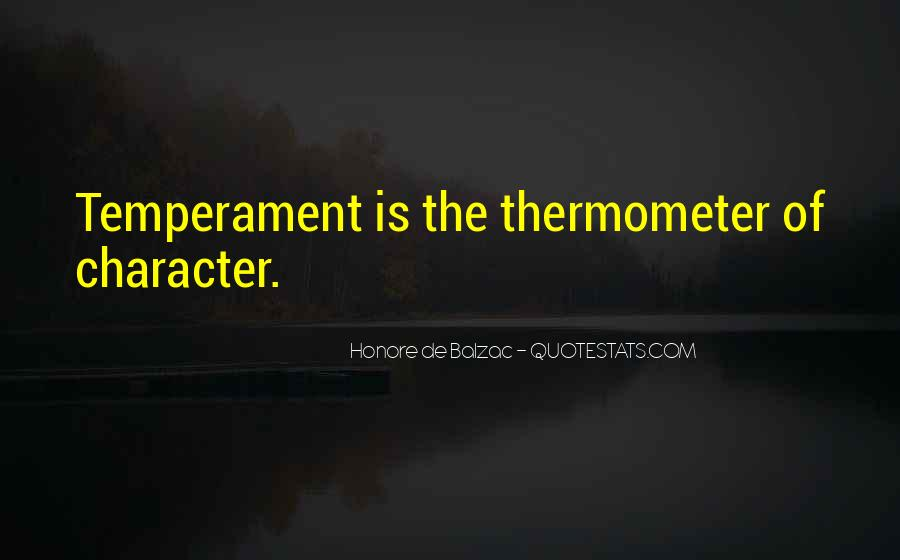 Quotes About Thermometers #1695840