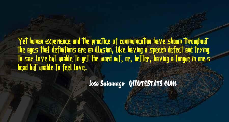 Quotes About Saramago Love #1715491