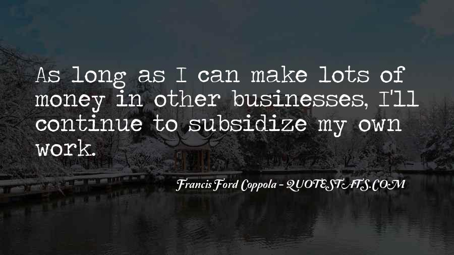 Quotes About Businesses #106282