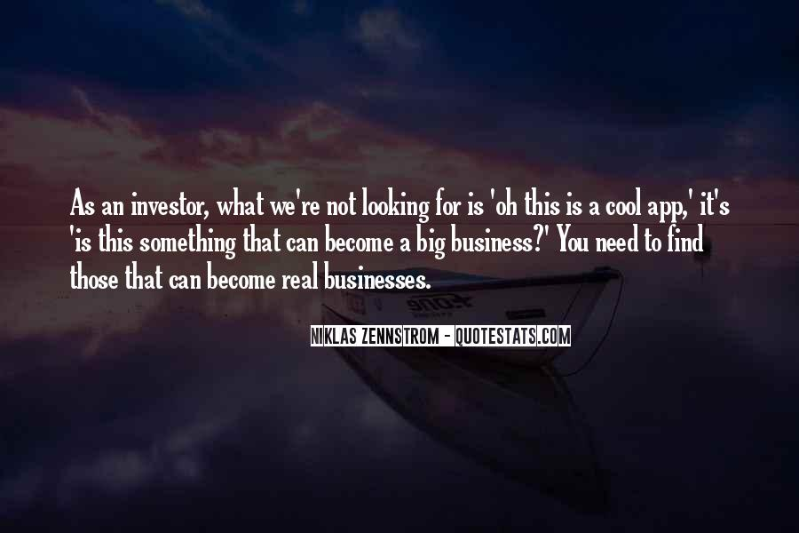 Quotes About Businesses #139882