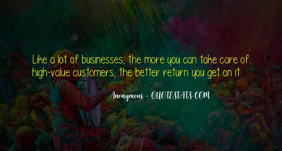Quotes About Businesses #151679