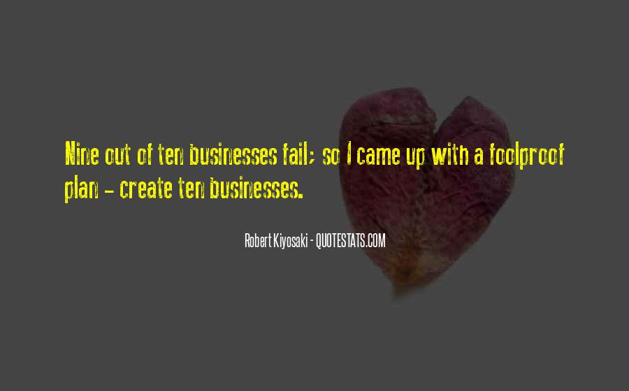 Quotes About Businesses #19781