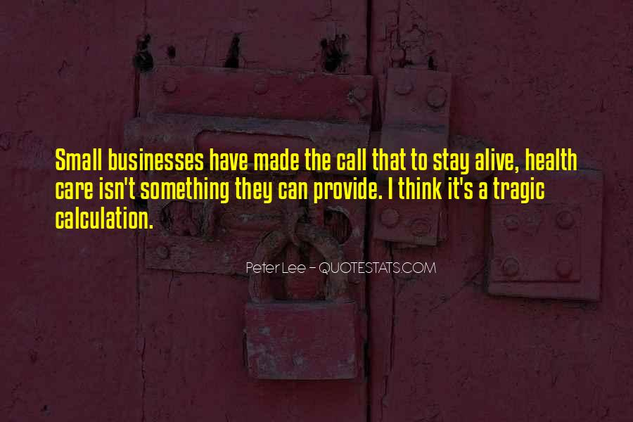 Quotes About Businesses #28293