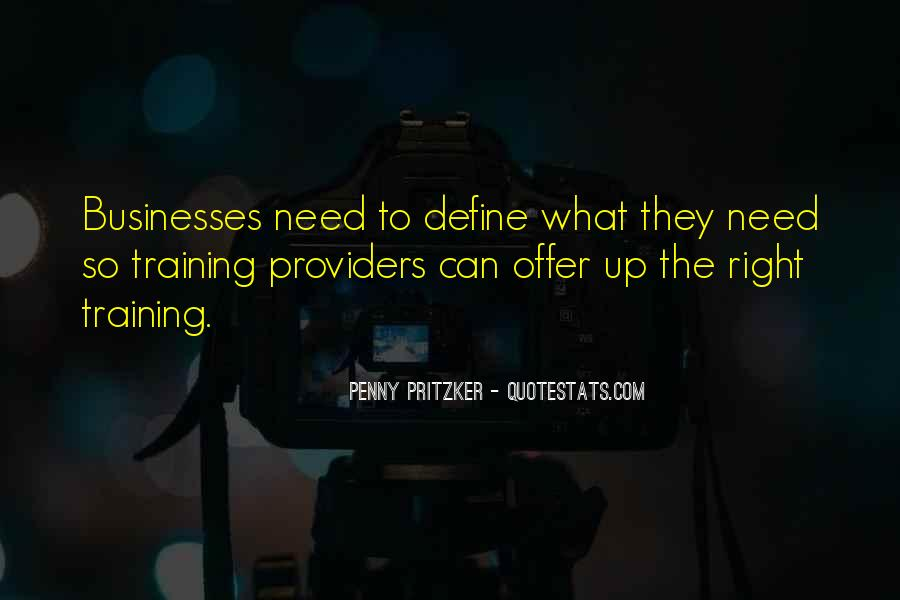 Quotes About Businesses #53591