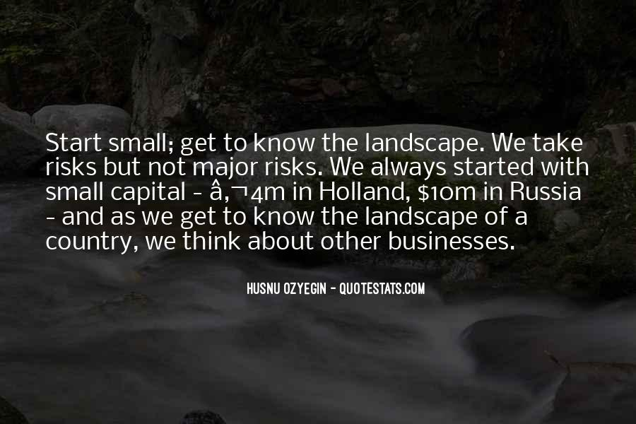 Quotes About Businesses #65708