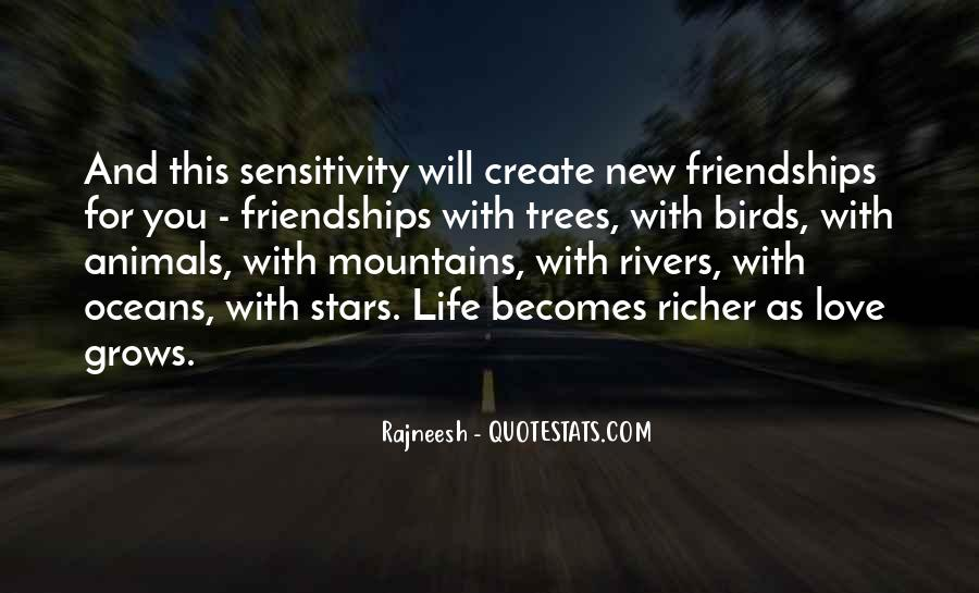 Quotes About Sensitivity And Love #137679
