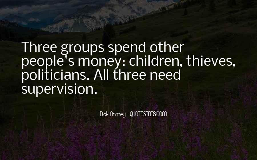Quotes About Groups Of Three #1156688