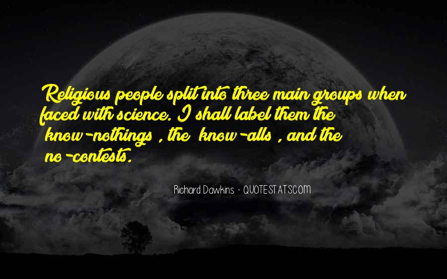 Quotes About Groups Of Three #274031