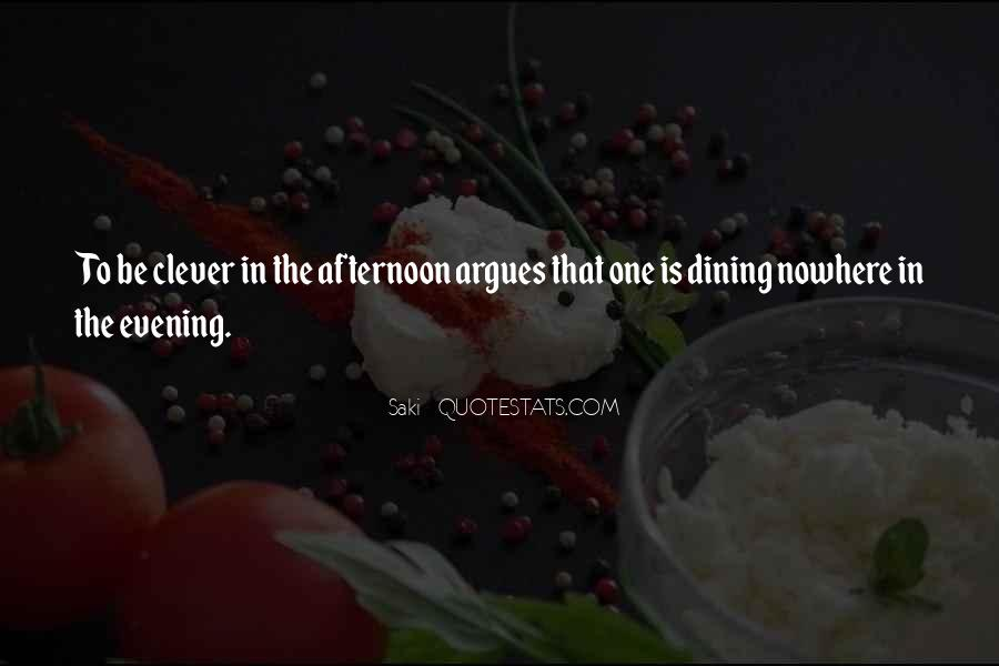 Quotes About Dining #130873
