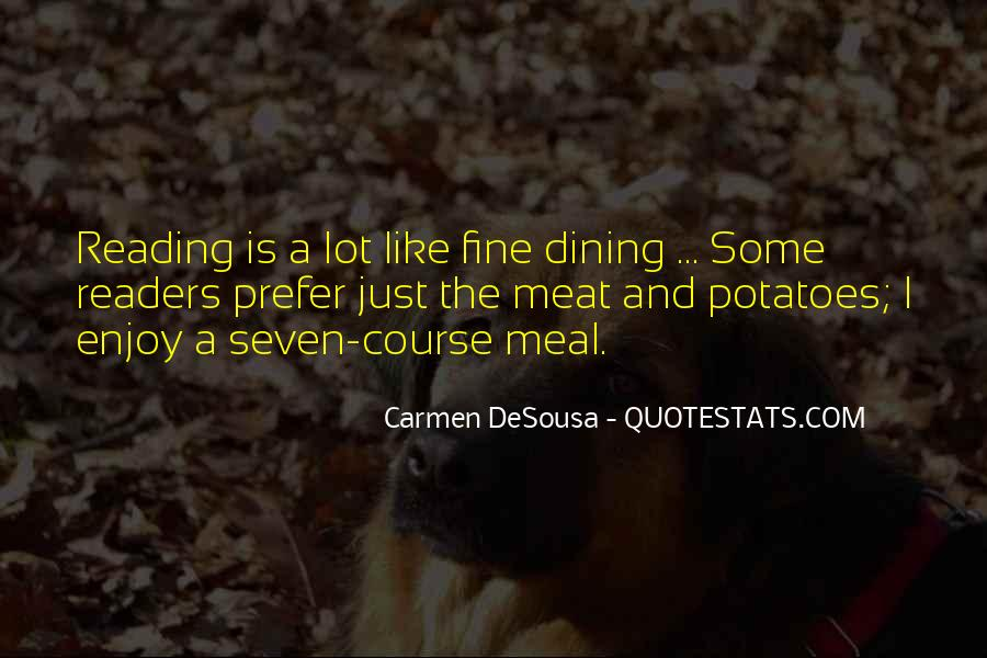 Quotes About Dining #209194