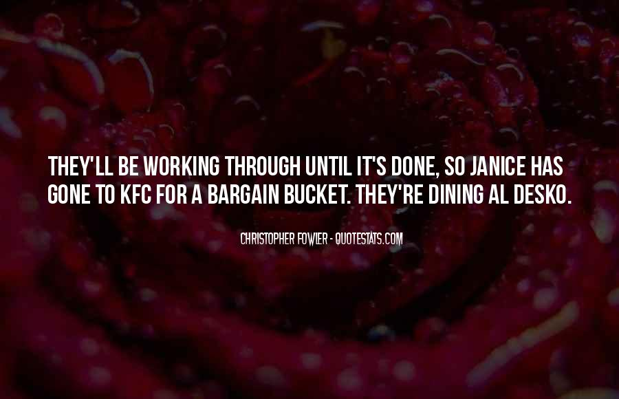 Quotes About Dining #362343