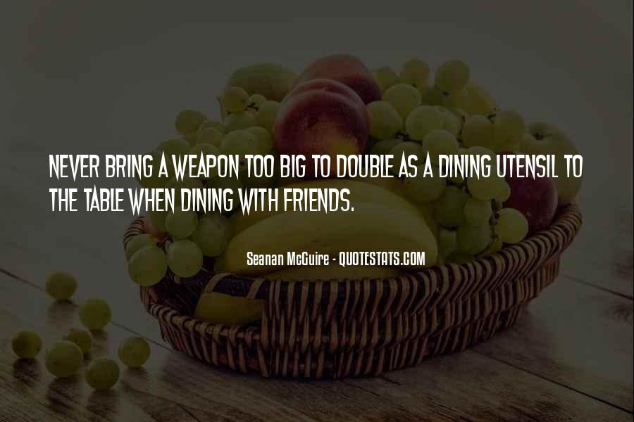 Quotes About Dining #405193