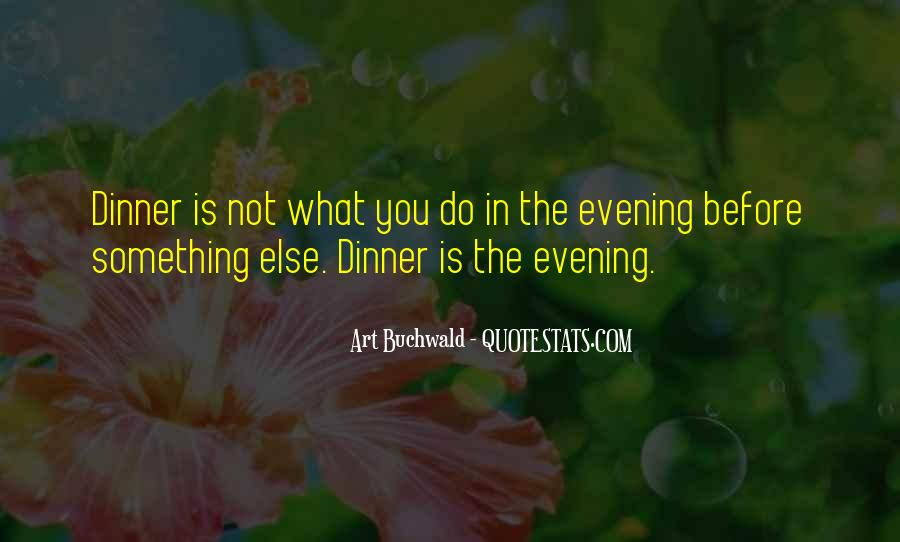 Quotes About Dining #55952