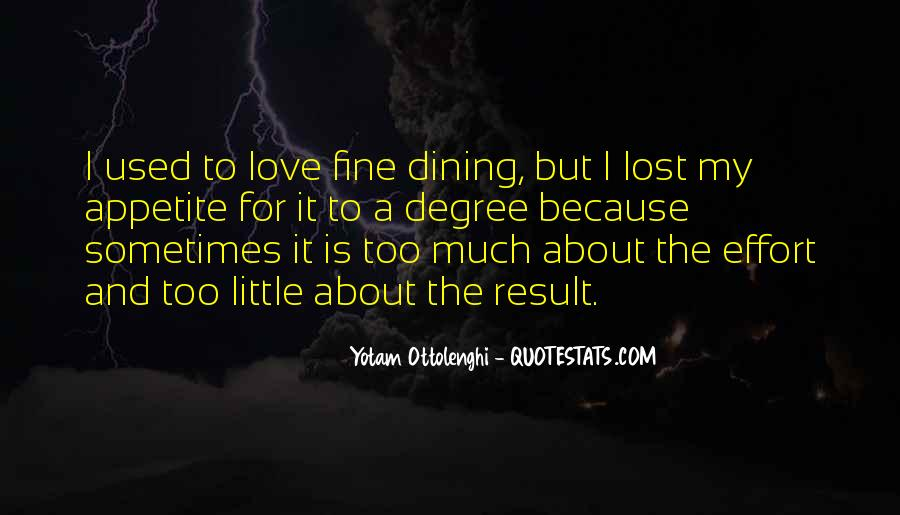 Quotes About Dining #564266