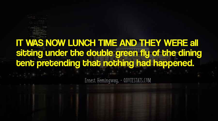 Quotes About Dining #567734