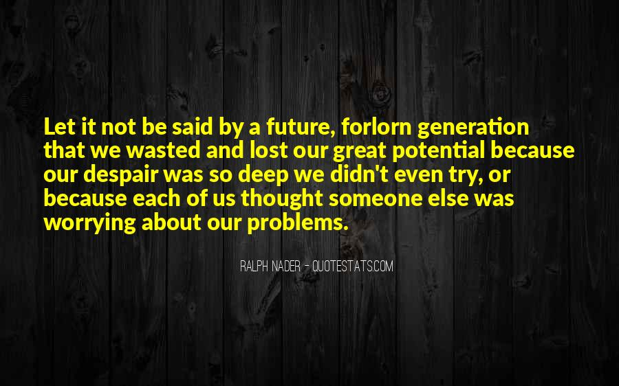 Quotes About Lost Generation #1066380