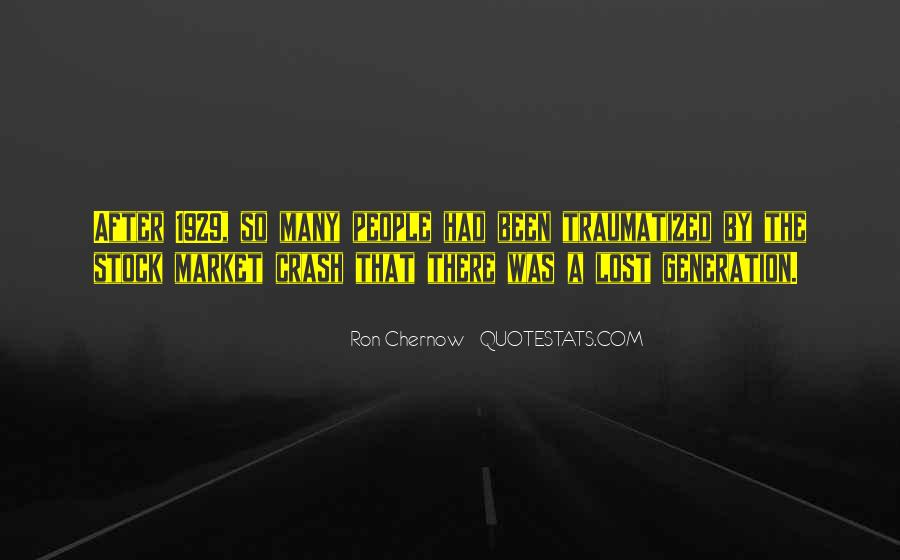 Quotes About Lost Generation #1178588