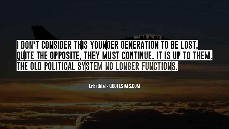 Quotes About Lost Generation #1267161