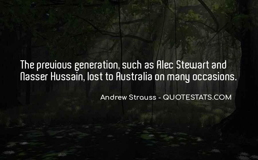 Quotes About Lost Generation #1518357