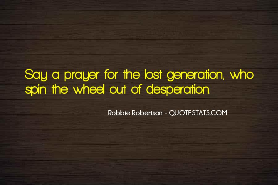 Quotes About Lost Generation #1614866