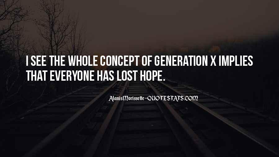 Quotes About Lost Generation #96427