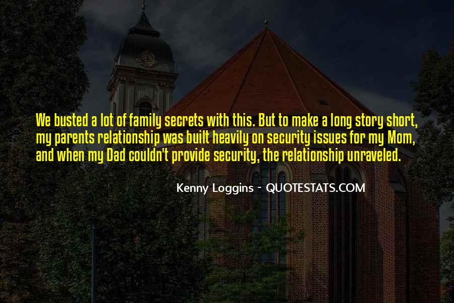 Quotes About Your Relationship With Your Parents #20447