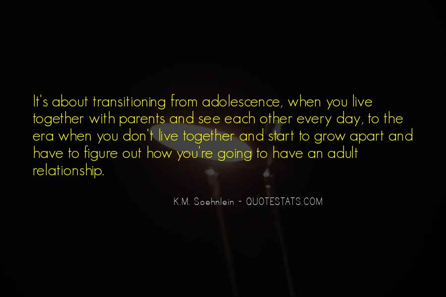 Quotes About Your Relationship With Your Parents #261169
