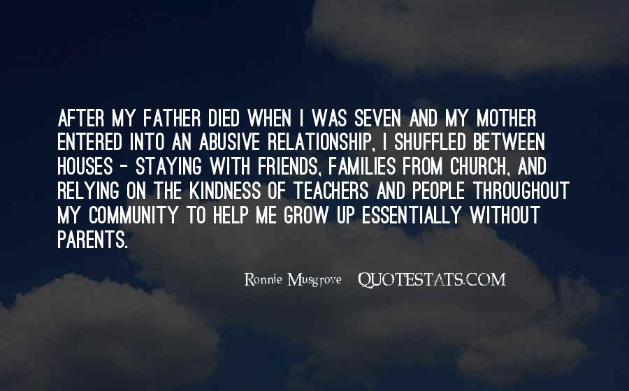 Quotes About Your Relationship With Your Parents #531652