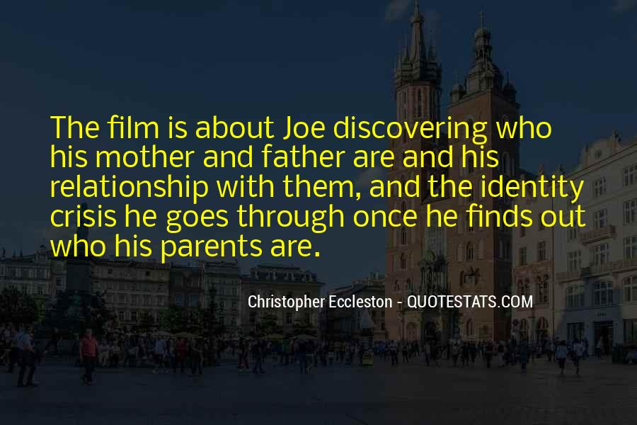 Quotes About Your Relationship With Your Parents #568649