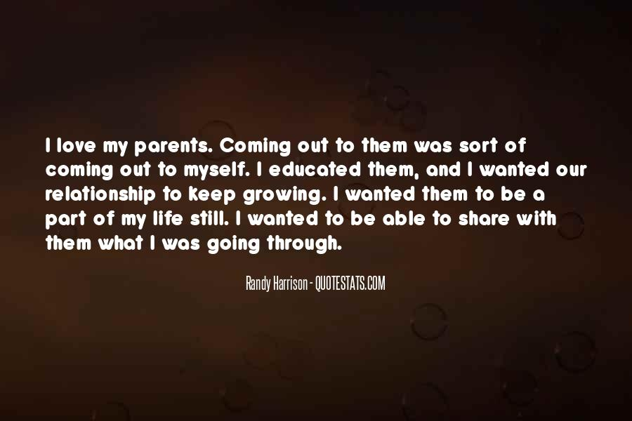 Quotes About Your Relationship With Your Parents #790810