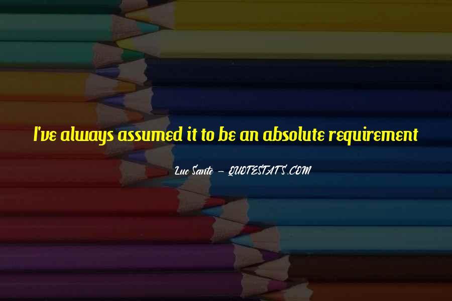 Quotes About Sante #1305771
