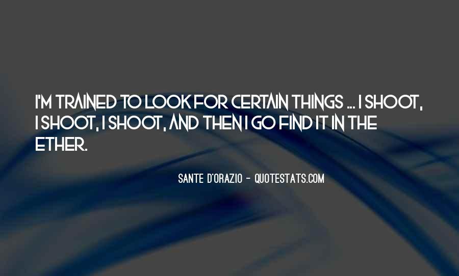 Quotes About Sante #1342748