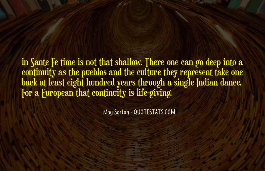 Quotes About Sante #1767723