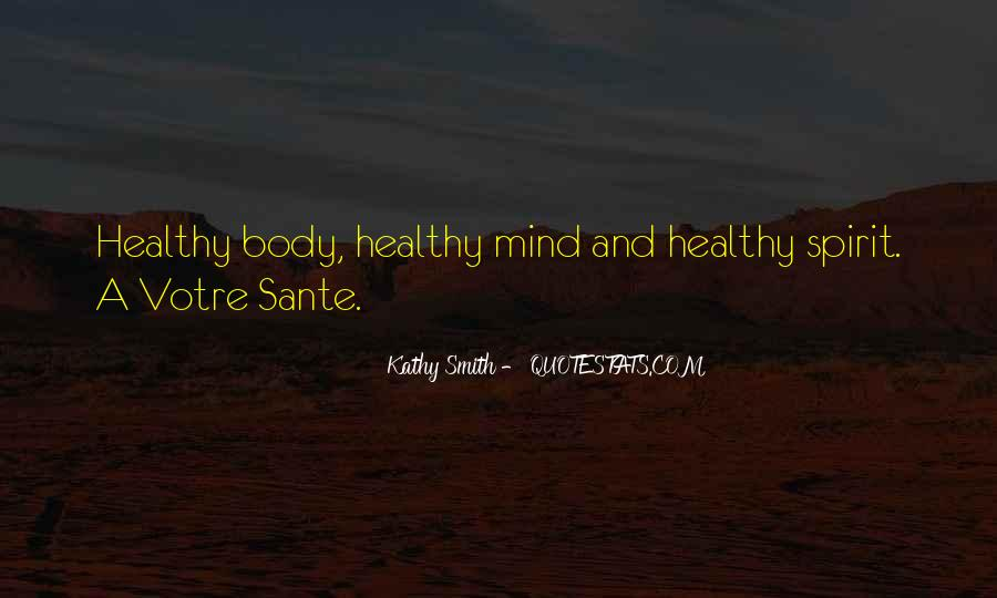 Quotes About Sante #228641