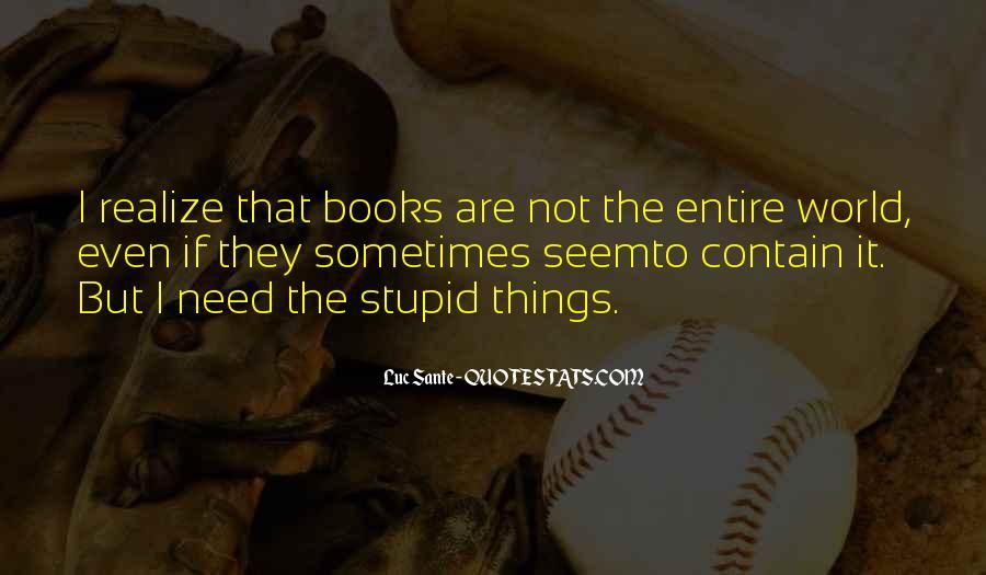 Quotes About Sante #840965