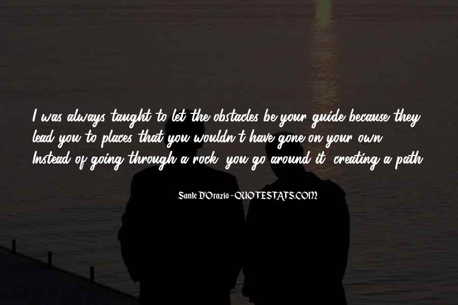 Quotes About Sante #974478
