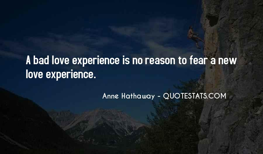 Quotes About Fear Of New Love #1261317