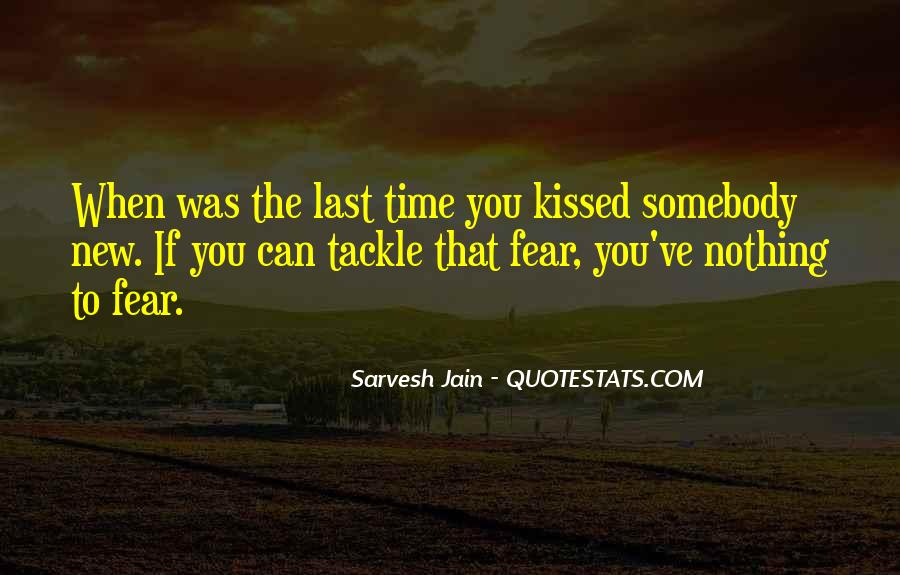 Quotes About Fear Of New Love #33064