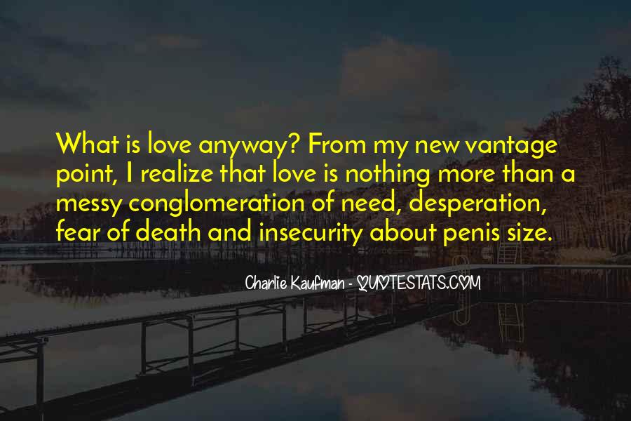 Quotes About Fear Of New Love #9882