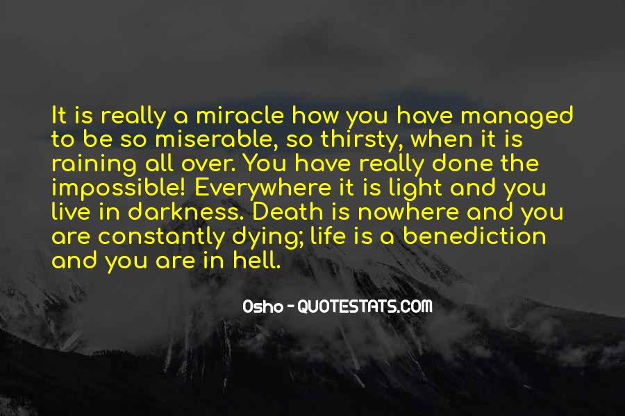 Quotes About Light And Darkness In Life #1337804
