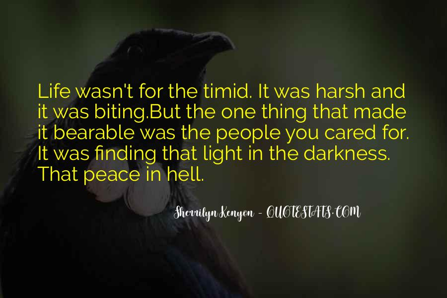 Quotes About Light And Darkness In Life #1426344