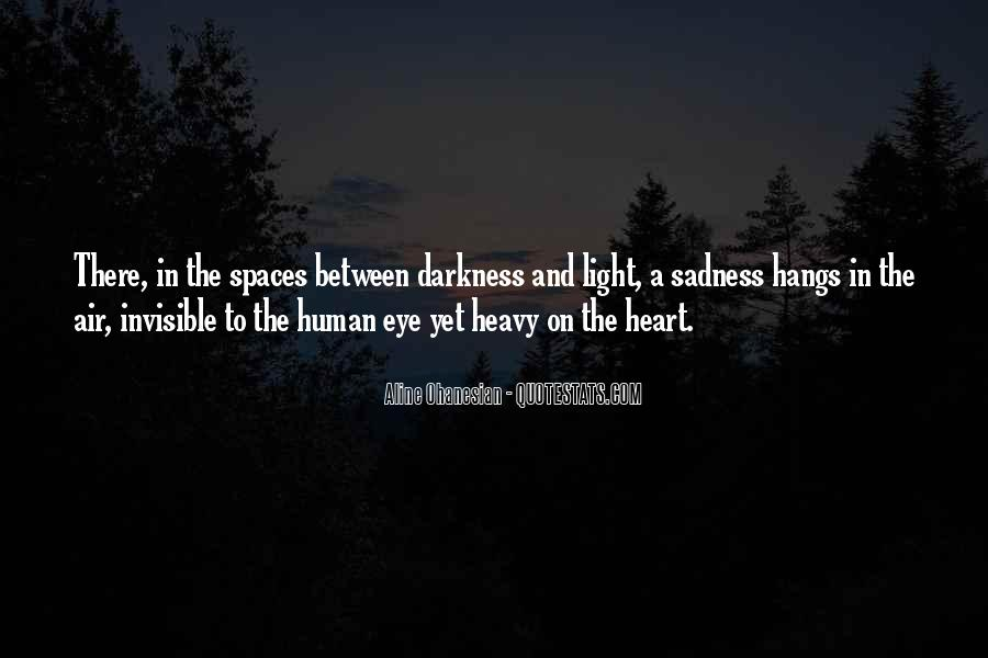 Quotes About Light And Darkness In Life #1536631