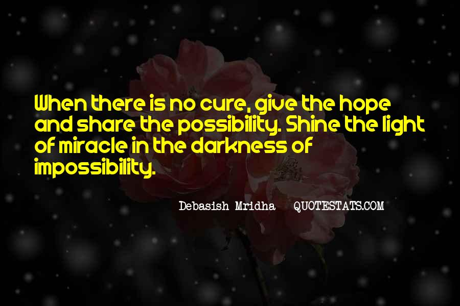 Quotes About Light And Darkness In Life #1826052